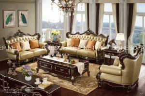 Những màu cơ bản của sofa cổ điển này thích hợp với những chủ nhân yêu sự truyền thống