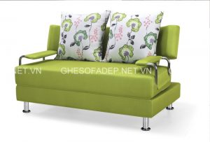 Năm 2018 là sự lên ngôi của những mẫu sofa giường đi văng nhỏ xinh thích hợp với phòng khách khiêm tốn về diện tích