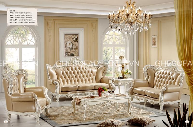 Giá sofa cổ điển cực đắt