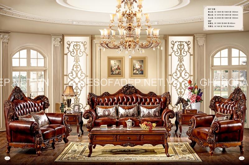 4 yếu tố quyết định giá sofa cổ điển