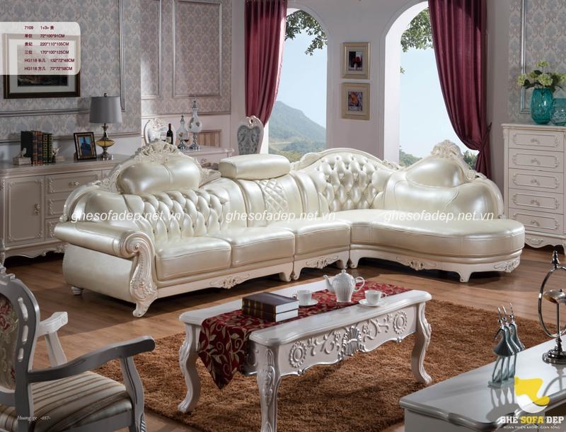 Vì sao chọn sofa cổ điển cho căn hộ biệt thự