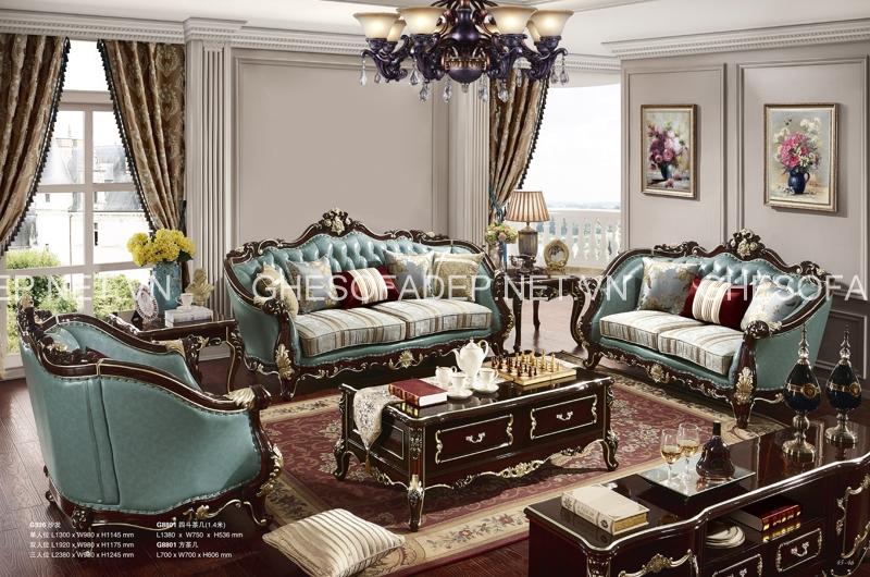 Chọn sofa cổ điển đẹp cho căn hộ biệt thự