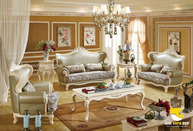 Trong khoảng 70 triệu đồng, đây là mức giá sofa cổ điển tốt nhất so với mặt bằng chung của dòng sofa này