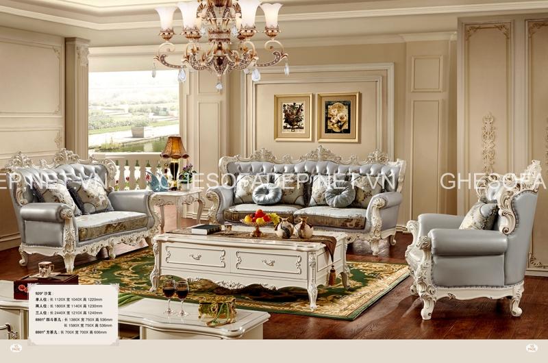 Hãy tìm đến những địa chỉ uy tín lâu năm để được đảm bảo về chất lượng cũng như giá sofa cổ điển