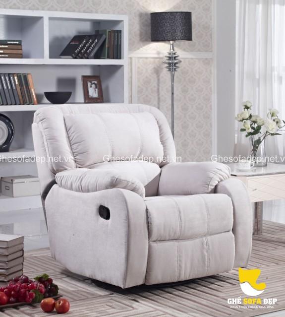 Mẫu sofa thư giãn chất lượng phụ thuộc rất nhiều vào chất liệu da bọc ngoài