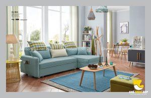 Một bộ sofa giường đa năng chất lượng nhập khẩu sẽ có cấu tạo bên trong như thế nào?