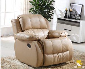 Bài trí sofa thư giãn đơn cho phòng ngủ