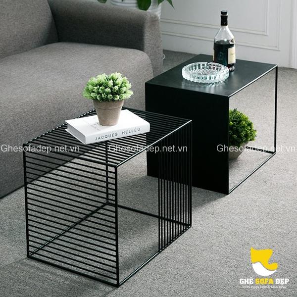 Bộ đôi kết hợp cùng nhau tạo nên dấu ấn độc đáo cho căn phòng khách