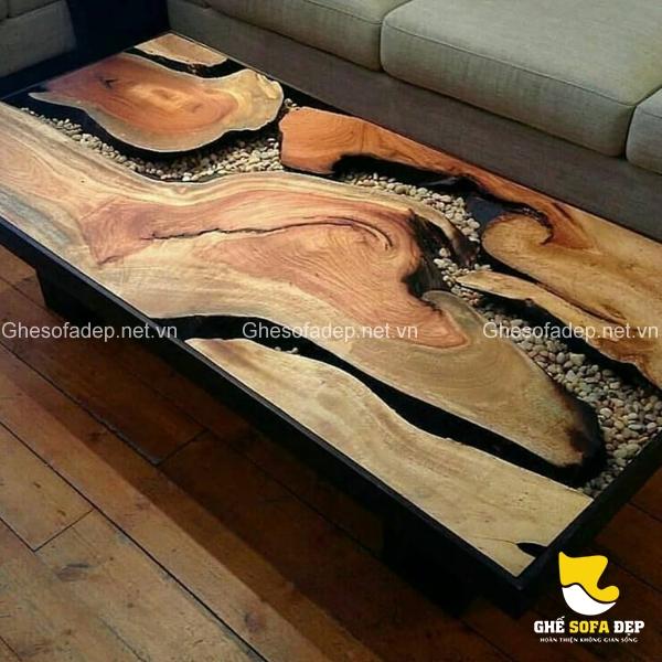 Giữ nguyên những vân gỗ để làm nên kiệt tác mang đậm vẻ đẹp thiên nhiên