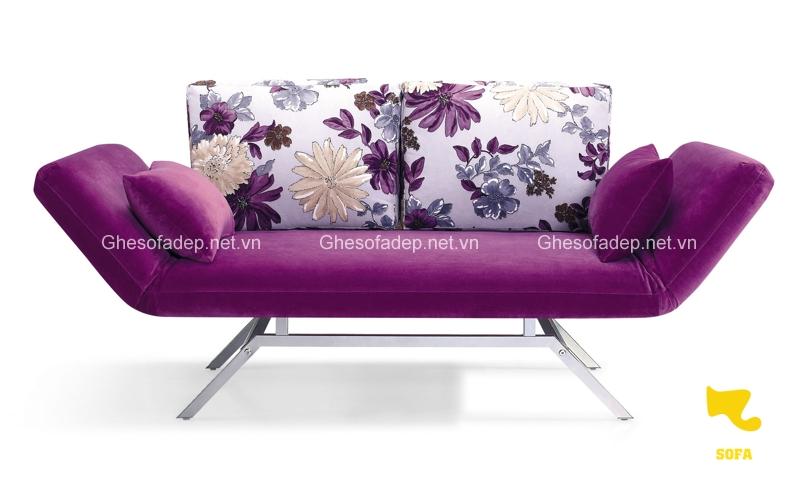 Đây là một mẫu sofa giường nhỏ gọn và xinh xắn