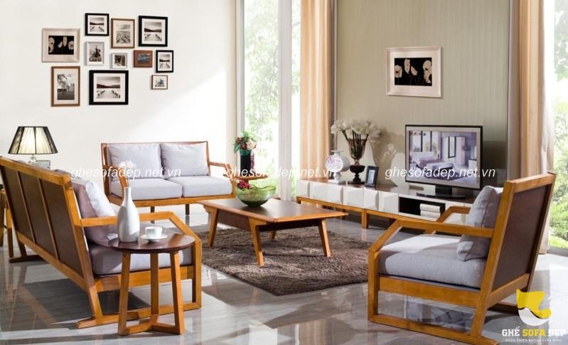 Chiem Ngưỡng Mẫu Sofa Gỗ Cao Cấp Cho Phong Khach Hiện đại