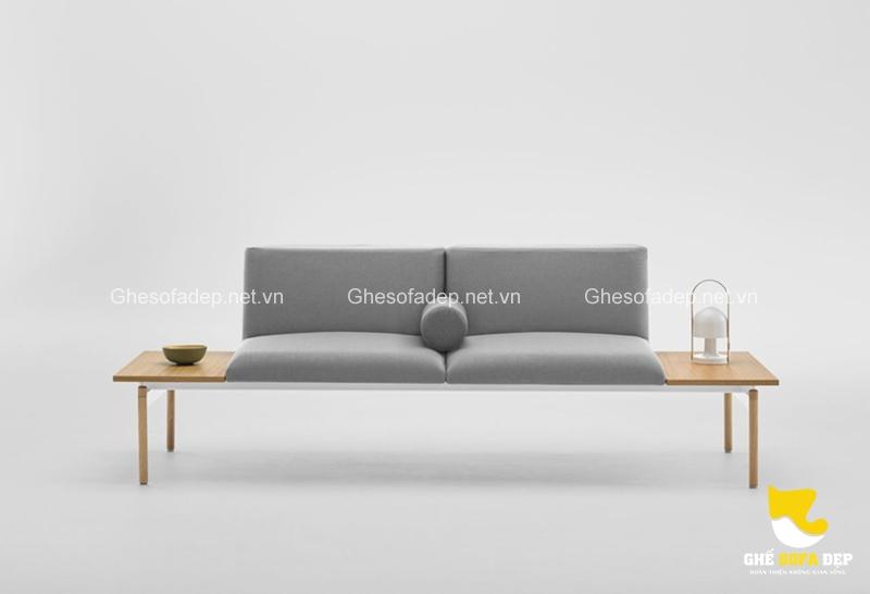 Sofa phòng khách với kiểu dáng gọn nhẹ và tinh tế