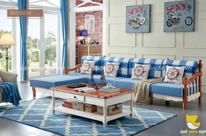 Phong Khach Chung Cư Thoang Mat Với Những Mẫu Sofa Gỗ Hiện đại