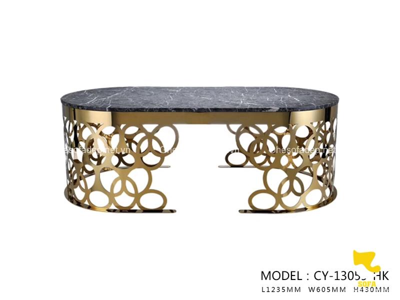Chiếc bàn này cũng có phần chân hết sức độc đáo, thu hút ánh nhìn
