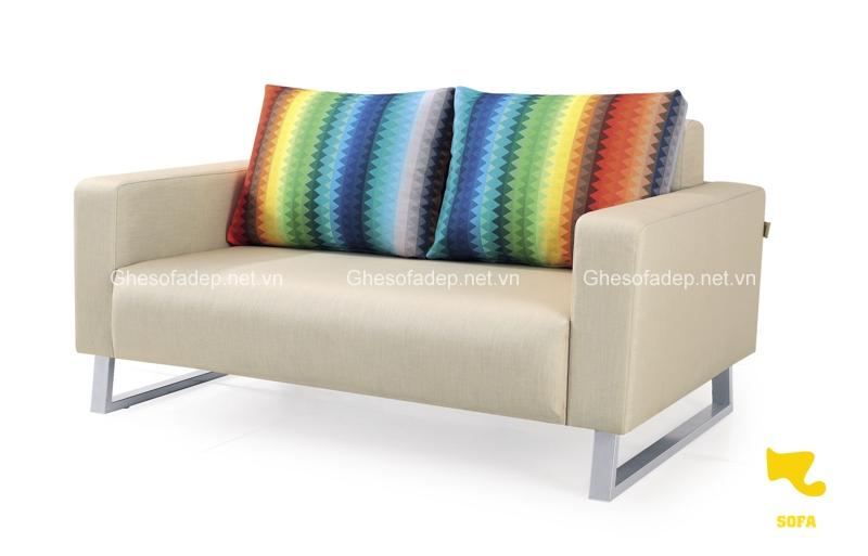 Sofa phòng khách màu sáng đầy trẻ trung của Funika