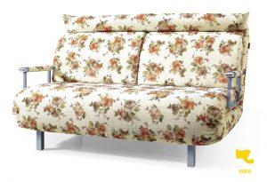 Sofa vải hoa nhẹ nhàng và xinh xắn cho những ngày thu